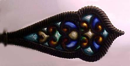 For sale: original 1893 Juneau Alaska                       plique-a-jour sterling souvenir spoon.