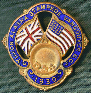 For sale: Original 1930 Alaska Yukon Sourdough               Stampede pin.