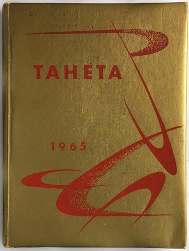 For sale: original Mount Edgecumbe High School                 Yearbook Thaeta. Class of 1965.