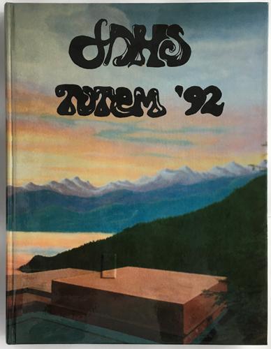For sale: original JDHS yearbook from Juneau,               Alaska. Class of 1992.