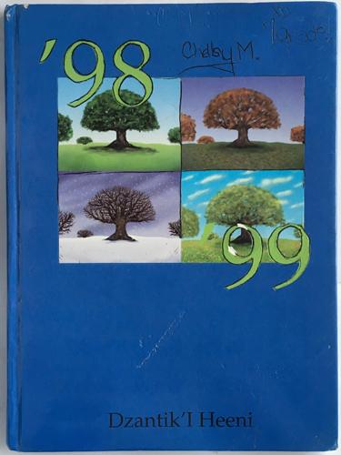 For sale: original 1999 DzantikIHeeni Middle                 School Yearbook, Juneau Alaska.