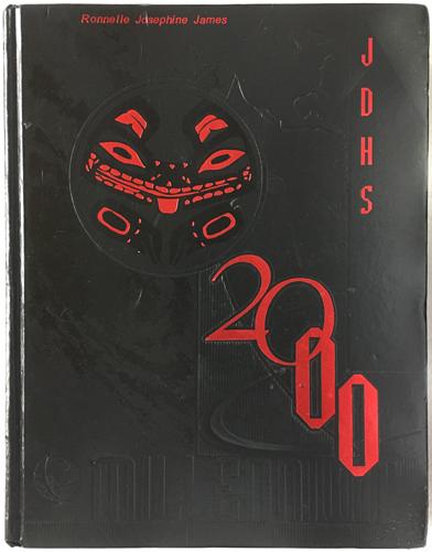 For sale: original JDHS yearbook from Juneau,               Alaska. Class of 2000.
