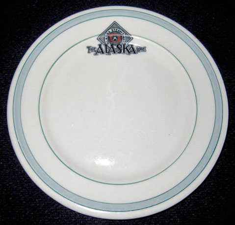 Alaska Steamship               Company, Alaska Line, Plate for sale