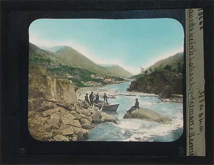 Alaska magic lantern slide