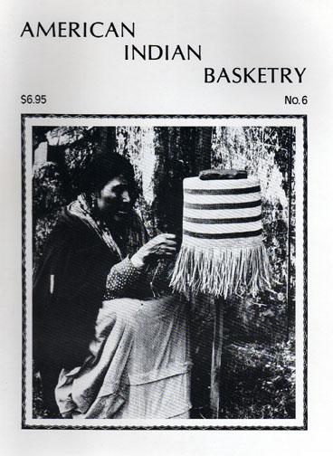 American Indian               Basketry magazine: Alaska issue. Eskimo, Aleut, Indian               baskets.