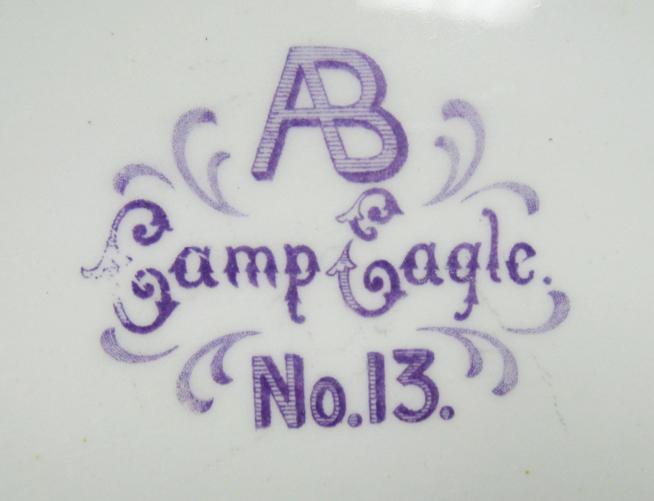 For sale: Antique               Eagle Alaska Arctic Brotherhood Camp 13 platter.