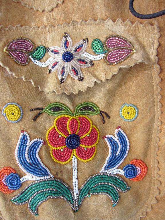 For sale: Wonderful               Upper Yukon Beaded Moosehide Chief's Jacket.