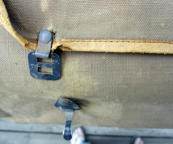 For sale: Antique U.S. Census bag used in Alaska.