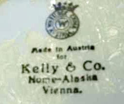 For               sale: Vintage Nome Alaska Souvenir Plate, Antique.