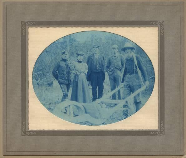 For               sale: original Faith Fenton Klondike gold rush photograph