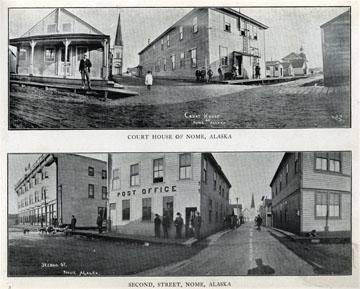 """For sale: original view book """"Souvenir of North               Western Alaska"""" by O.D. Goetz."""