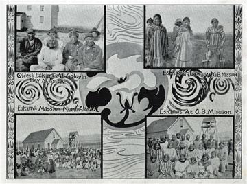 "3 photos of Golovin Bay Mission. For sale: original               view book ""Souvenir of North Western Alaska"" by               O.D. Goetz."