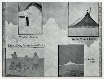 """Eskimo berry pickers, Nome, Alaska. For sale:               original view book """"Souvenir of North Western               Alaska"""" by O.D. Goetz."""