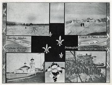 "Deering, Alaska. For sale: original view book               ""Souvenir of North Western Alaska"" by O.D.               Goetz."