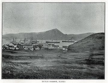 "Dutch Harbor, Alaska. For sale: original view book               ""Souvenir of North Western Alaska"" by O.D.               Goetz."
