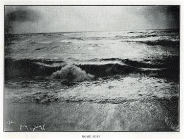 "Nome surf. For sale: original view book               ""Souvenir of North Western Alaska"" by O.D.               Goetz."