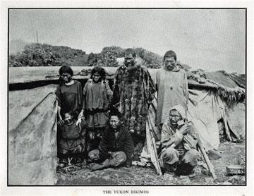 "The Yukon Eskimos. For sale: original view book               ""Souvenir of North Western Alaska"" by O.D.               Goetz."
