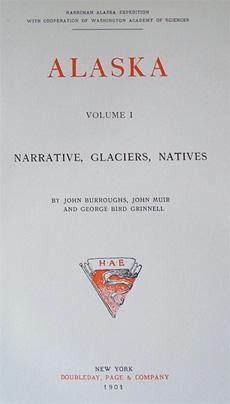 Books for sale: Harriman Alaska Expedition volumes 1               & 2, John Muir, John Burroughs, etc.