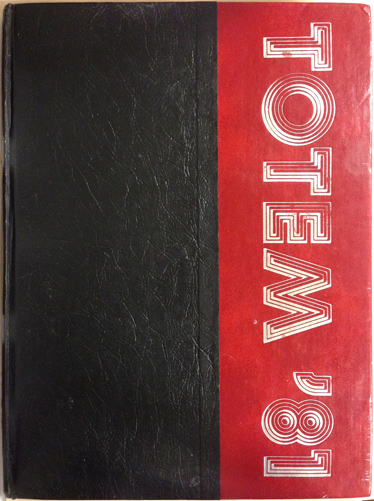 For sale: original JDHS yearbook from Juneau,               Alaska. Class of 1981.