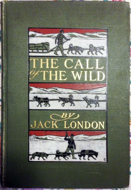 For sale: a large               lot of 145 Vintage Jack London Books.
