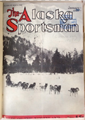 January 1935 Alaska               Sportsman magazine