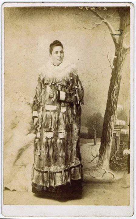 For sale: original cabinet photograph of Edith               Kilbuck, Moravian missionary in Alaska.