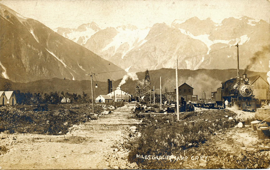 For sale: original Copper River & Northwestern               Railway real photo postcard.