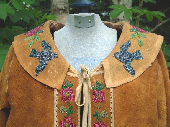 For sale: Kutchin beaded Chief's Jacket