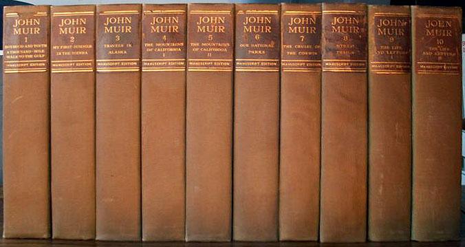 John Muir manuscript edition.