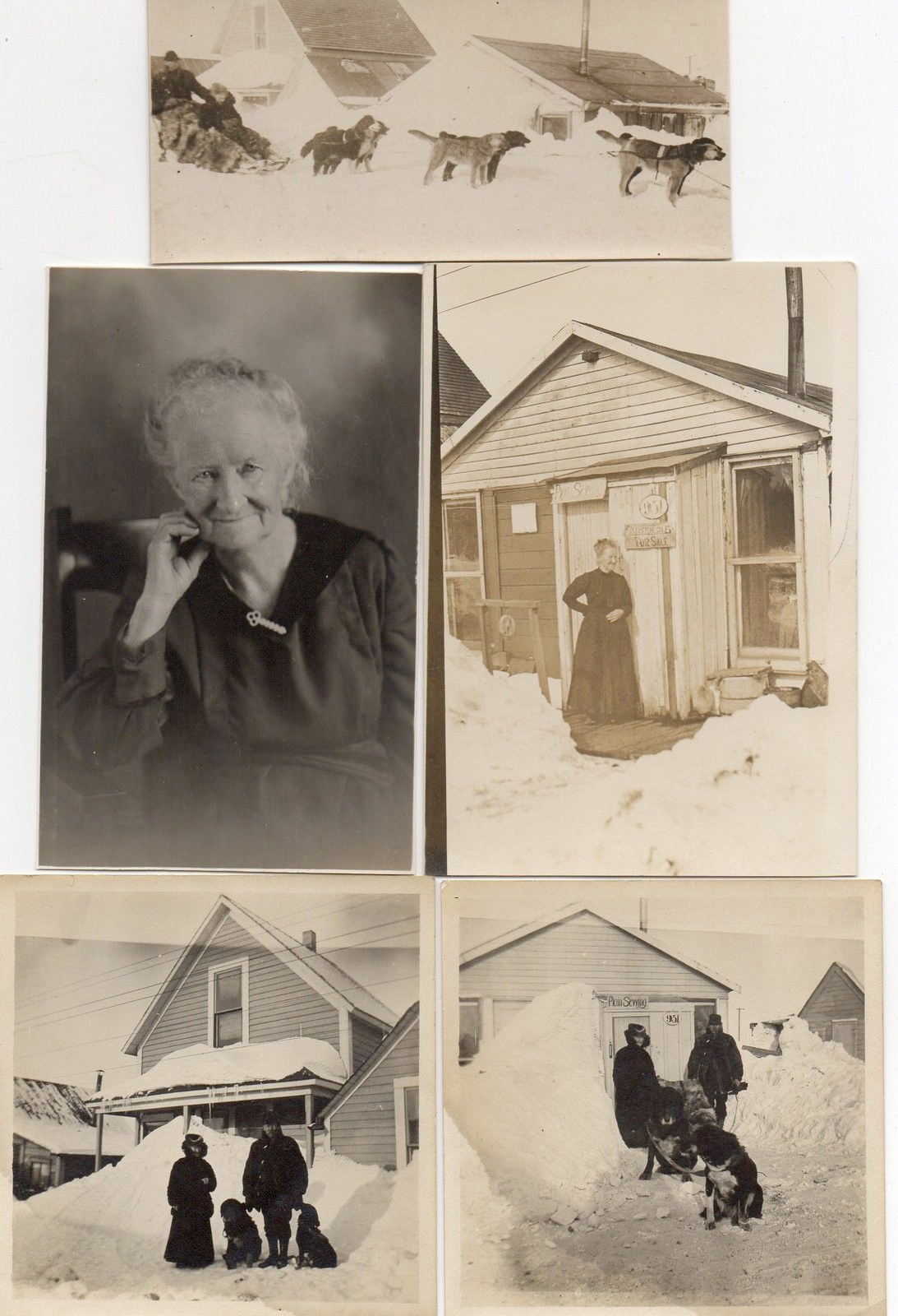 For sale: a group of               early Nome Alaska photographs.