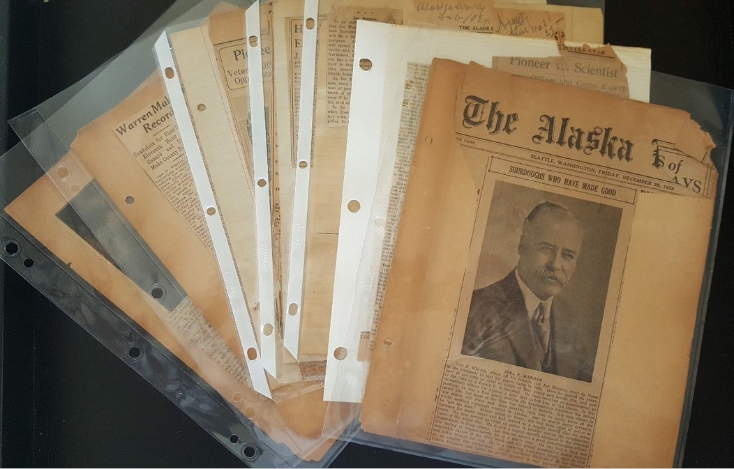 For sale: very early               Nome Alaska police badge and archive Joe Warren.