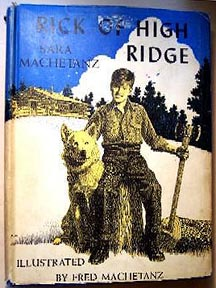 For sale: Fred Machetanz Rick Of High Ridge