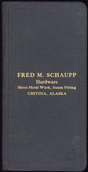 For sale: The Fred               Schaupp Alaska collection, including his Deputy Marshal               badge.