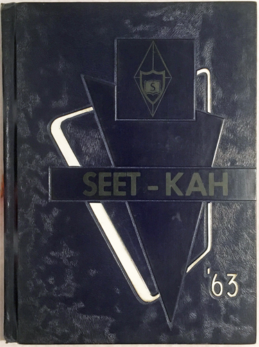 For sale: Sitka High School yearbook, the                   SEET-KAH. Sitka class of 1963.