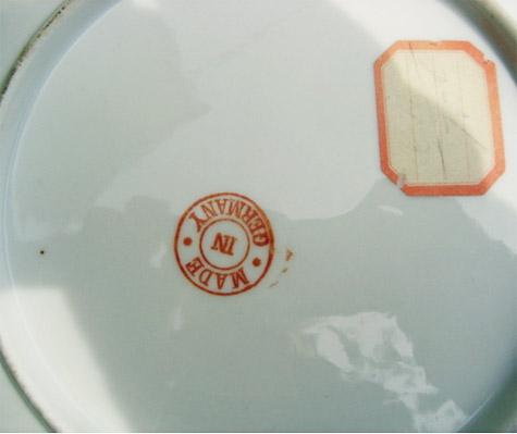 Sitka Alaska antique souvenir china plate for sale.
