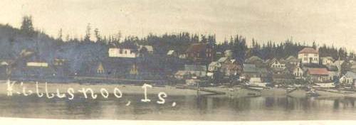 Vincent Sololeff               Killisnoo Alaska postcard.