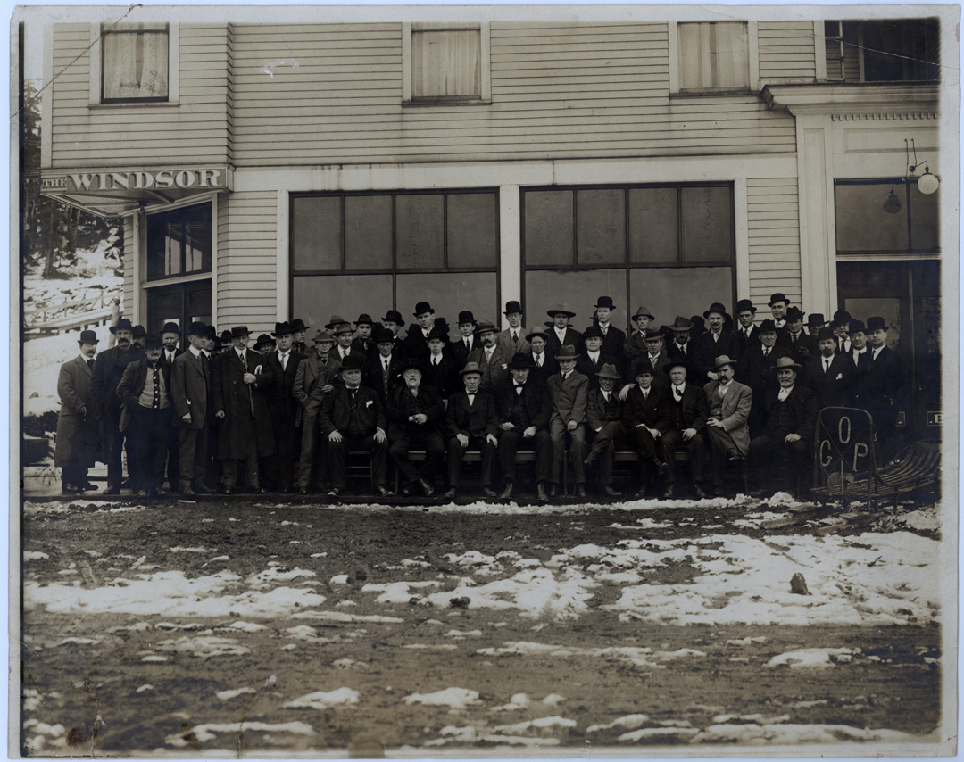 For sale: Fred M.               Schaupp collection, Windsor Hotel, Cordova, Alaska.