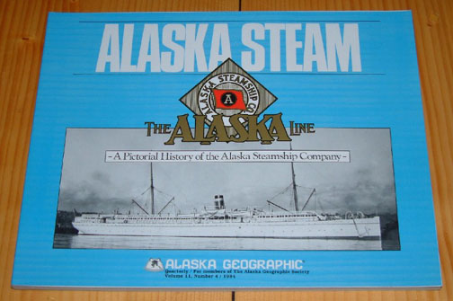 Alaska Steamship               Company book for sale.