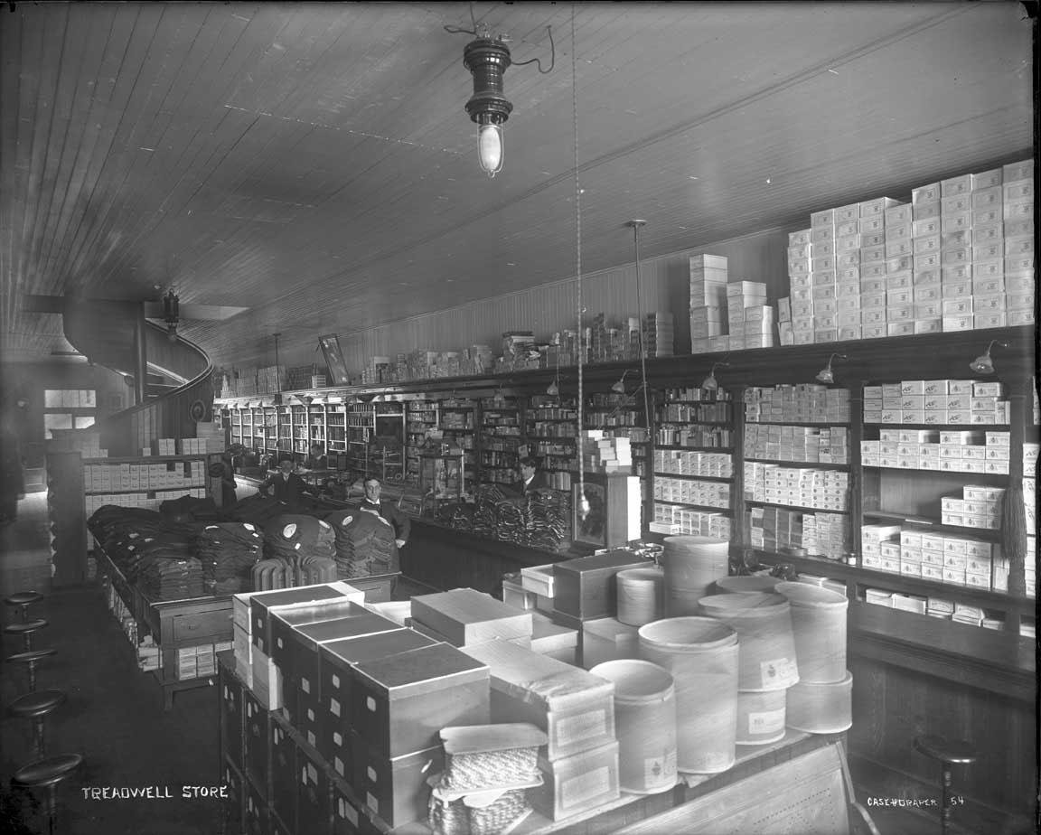 Treadwell Store, Douglas                 Alaska.