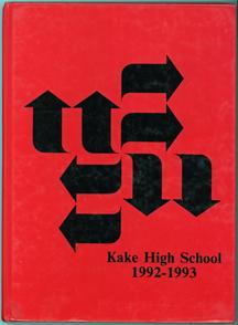 For sale: Kake Alaska high school yearbook.