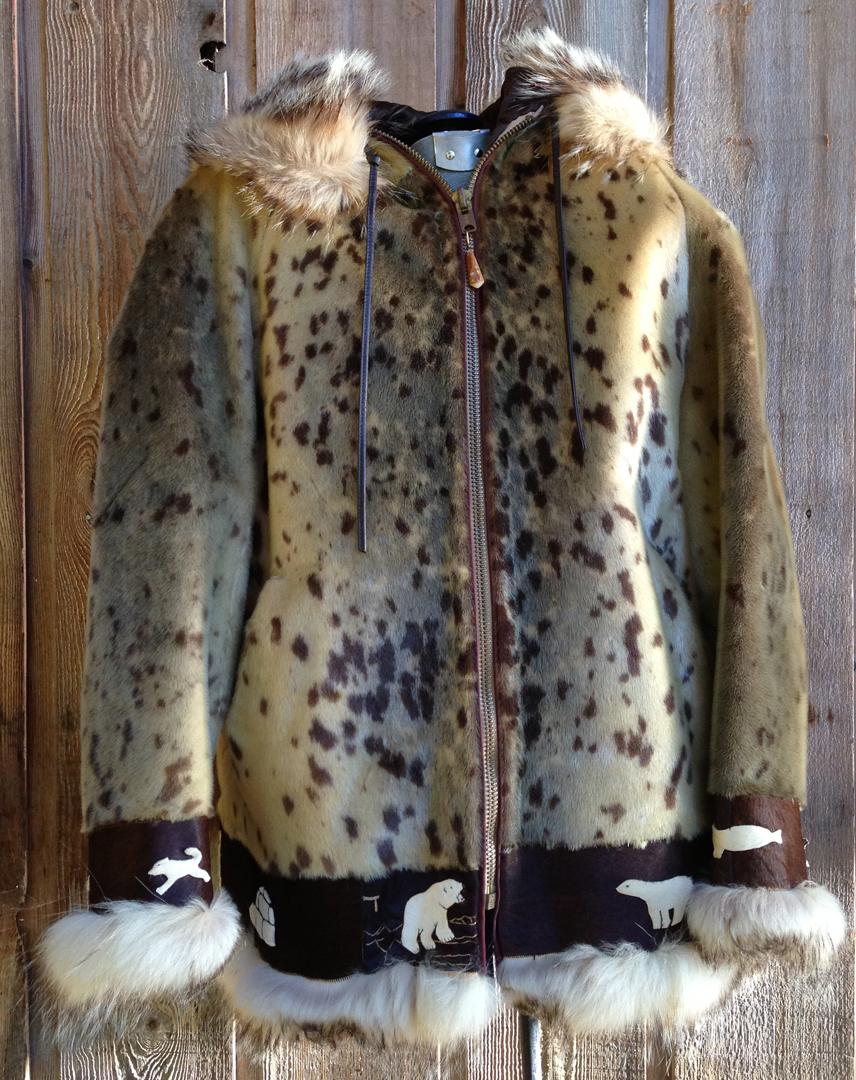For Eskimo Style Vintage Alaska Parka